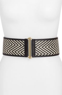Free shipping and returns on Vince Camuto Woven Stretch Belt at Nordstrom.com. A monochrome woven motif and goldtone hardware refine a wide, stretchy belt that's perfect for adding a touch of boho-chic appeal to any ensemble.