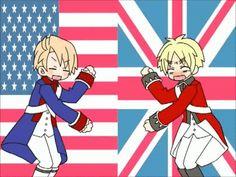 America & England