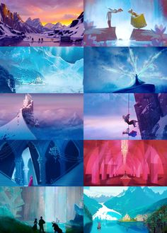Disney's Frozen concept art