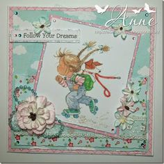 LOTV - Annabel Art Pad with Pastel Dreams and Up Up and Away Papers by DT Anne