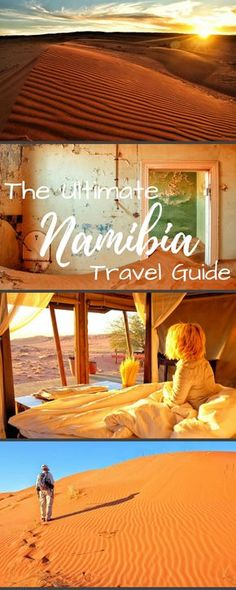 All you need to know about traveling in Namibia. Including itinerary advice, tips, and road trip help! Venture to Etosha National Park for safari or go sand boarding in Swakopmund, see the famingos in Walvis Bay and so much more!