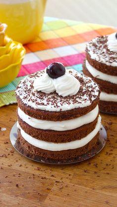 Mini Black Forest Cakes ~ Recipe | Tastemade