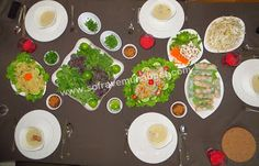 ... Khmer style spring rolls with dip sauce (Cambodia) - www
