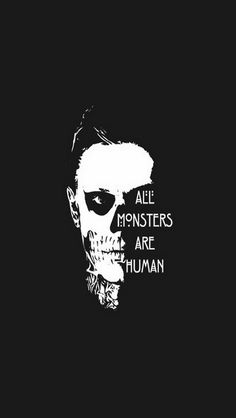 All monsters are human iPhone 5s wallpaper