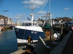 Weymouth harbour, Dorset.
