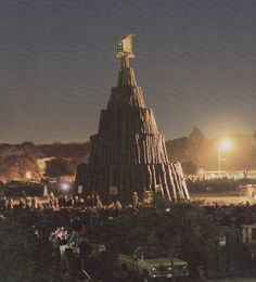 Fightin' Texas Aggie Bonfire '88 -  I was THERE that year! My boyfriend went to school there & I was a senior in HS -- he was trying to recruit me. I wanted a smaller school, so went to SHSU instead. :)