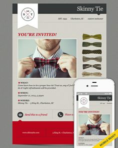 Vintage Yet Modern Email Template Design  Emma Email Marketing