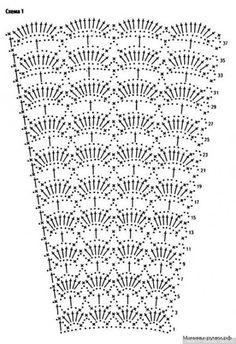 ideas dress skirt charts – Crochet Pattern and ideas Bonnet Crochet, Crochet Skirt Pattern, Crochet Skirts, Crochet Fabric, Crochet Diagram, Crochet Chart, Crochet Clothes, Crochet Baby, Crochet Patterns