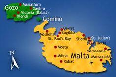 Resultado de imagen de malta mapa politico