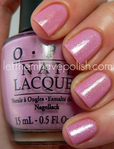 Let them have Polish!: O.P.I Holland Collection- The Shimmers
