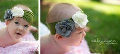 baby t-shirt headband how to fabric flowers