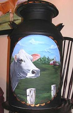 Milk Cans, I'm going to have the city of Napoli painted on it:)