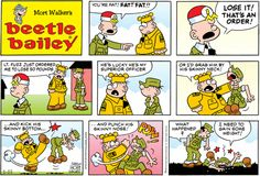 Any regular reader of the Beetle Bailey comics knows that Beetle's character…