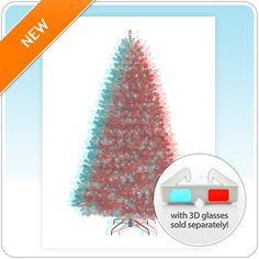 Welcome to the Treetopia future! Put on your 3-D glasses and watch our 3-D Tree come to life - right on your wall …. Amazeballs!!!