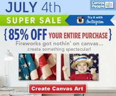 Canvas People $$ Get 85% OFF All Canvases!