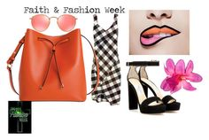 """faith fashion week"" by faithfashionweek on Polyvore featuring Victoria Beckham, Jimmy Choo, Lodis and Ray-Ban"