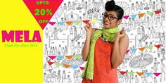 Upto 20% off on Mela 2014 :) Hurry....Buy it here>Woohooo.......Here's to weekend Shopping   Get it here>> http://www.funkforhire.co.in/MELA-catid-283518-page-1.html