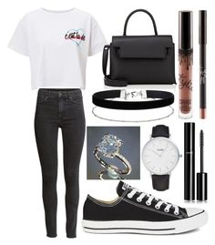 """178."" by plaraa on Polyvore featuring CLUSE, Miss Selfridge, H&M, Converse, Alexander Wang and Chanel"