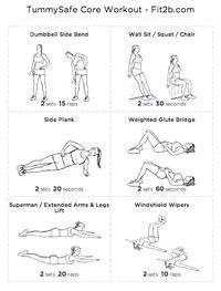 post c-section workout plan! Wish someone would have given