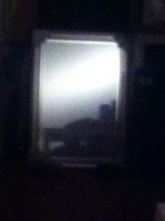 Shadow inside a Dr.Corb's mirror...