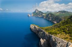Formentor peninsula in Majorca, Spain