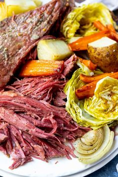 This Pressure Cooker Corned Beef Recipe is a quicker way to get fork tender meat. Keeping this meal simple for a traditional Saint Patrick's Day Dinner made in your Instant Pot.