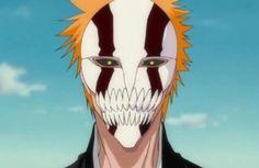 Ichigo's new hollow mask Bleach Manga, Bleach Ichigo Bankai, Bleach Drawing, Me Me Me Anime, Anime Guys, Ichigo Hollow Mask, Hollow Bleach, Otaku, Bleach Couples