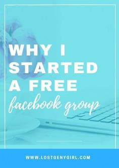 Sharing five reasons why I started a a free Facebook group for my audience and why I think more bloggers should consider doing the same.