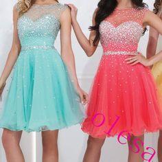 Charming Homecoming Dress A-Line Homecoming Dress Tulle Homecoming Dress Beading Short Prom Dress