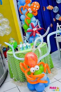 "Photo 47 of 77: Under the Sea / Birthday ""Arthur's 2nd birthday!"" 