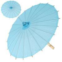 Turquoise Paper Parasol - Umbrella - 28