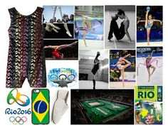 """Gymnastics Rio 2016"" by jeesxx ❤ liked on Polyvore featuring Été Swim, Danskin, Capezio, Casetify, games, Olympics, gymnastics and rio2016"