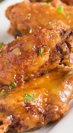 Spicy Pineapple and Mango Chicken Wings Recipe - Recipes to Cook - Baked Chicken Chicken Wing Recipes, Baked Chicken, Chicken Wing Sauces, Recipe Chicken, Creamy Chicken, Teriyaki Chicken Wings, Fried Chicken Wings, Salsa Chicken, Boneless Chicken