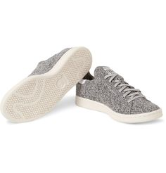 <a href='http://www.mrporter.com/mens/Designers/Adidas_Originals'>adidas Originals</a> boosts the comfort factor of its iconic 'Stan Smith' sneakers in this flexible Primeknit version. Designed for a supportive, sock-like fit, they have contrasting white heel tabs and a mélange finish. Wear yours with jeans and soft tailoring alike.