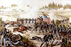 Battle of Olustee - Massachusetts Infantry Regiment - Wikipedia, the free encyclopedia Civil War Art, Union Army, America Civil War, World History, Civilization, American History, Florida, Pictures, Painting
