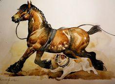 Arden. Horse art