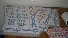 L'alfabeto mobile di LaPappaDolce