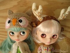 Blythe, Owls, and Hats- what's not to love??!
