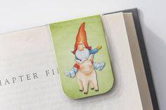 Gnome Bookmarks Pig Bookmark Magnetic Bookmark Garden Gnome
