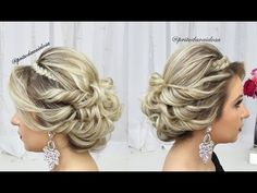 YouTube Updo, Hairstyle, Corte Y Color, Hair Videos, Different Styles, Style Me, Braids, Youtube, Short Hair