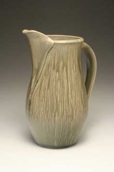 Steven Rolf's pitcher. Steven is one of 6 working potters featured in the June/July/August 2015 issue of Ceramics Monthly. http://ceramicartsdaily.org/ceramics-monthly/ceramics-monthly-junejulyaugust-2015/ #WorkingPotter