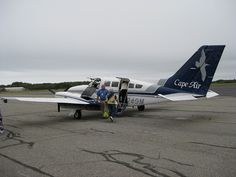 Cape Air, from Boston, MA to Rockland, ME oleh smiling in the rain