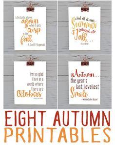Grab My Latest Autumn Printable Bundle: