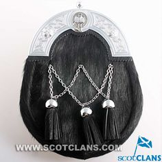 Napier Clan Crest Dress Sporran