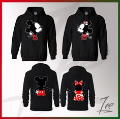Mickey and Minnie kissing Inspired Soul Mate,Couple sweaters Disney- Funny Couple hoodies Disney Couple,Matching hoodies,Size S-2X by AMYnZEE on Etsy https://www.etsy.com/listing/204798023/mickey-and-minnie-kissing-inspired-soul