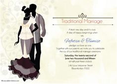 E Wedding Invitation Cards Product Zulu Wedding, Igbo Wedding, Wedding Invitations Examples, Traditional Wedding Invitations, Wedding Templates, Wedding Invitation Templates, Invitation Ideas, Wedding Clip, Wedding Cards