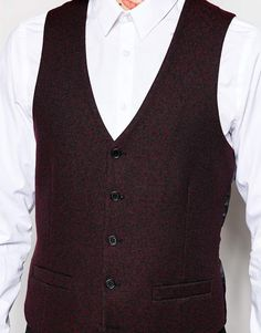 Image 3 of River Island Waistcoat with Leopard Print Texture