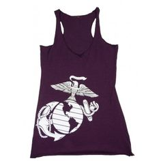 EGA Triblend Racerback Tank Top | TankTops | Womens | Sgt Grit - Marine Corps Store