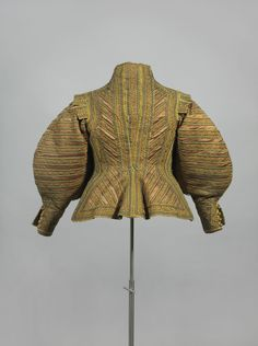 Doublet ca. 1630-40 From the Germanisches Nationalmuseum