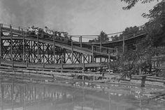 Ohio Scenic Roller Coaster Ride 4x6 Reprint Of 1900's Old Photo